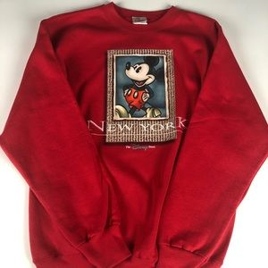 Disney Mickey Mouse New York sweater small